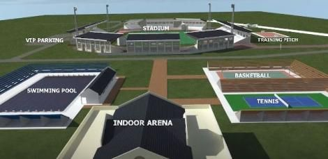 Ulinzi sports complex design project