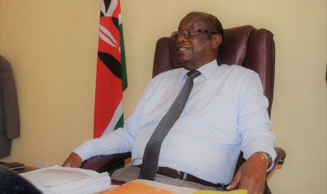 Kitui County Assembly Speaker George Ndoto