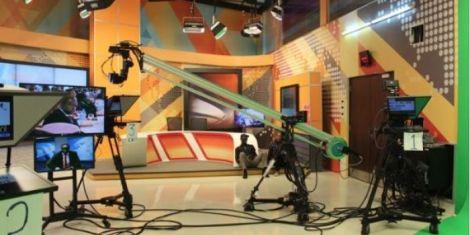 A photo of K24 TV studios.