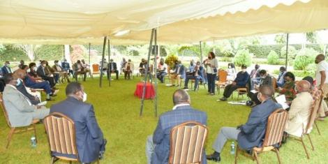 Kirinyaga leaders meet in Kutus town ahead of President Uhuru Kenyatta's visit on Mashujaa Day