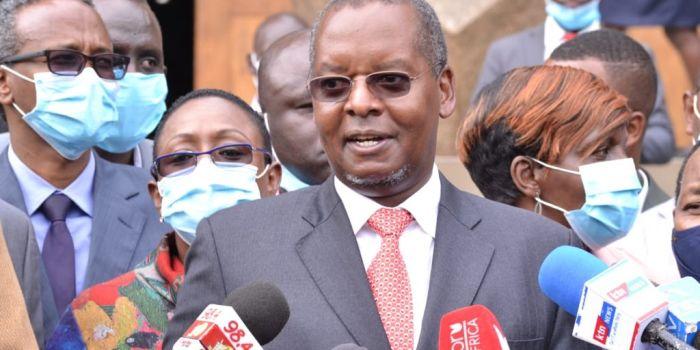 Kipipiri MP Amos Kimunya addressing the press After a Jubilee PG Meeting at KICC on Monday, June 22, 2020  jpg?itok=bCUArghN.