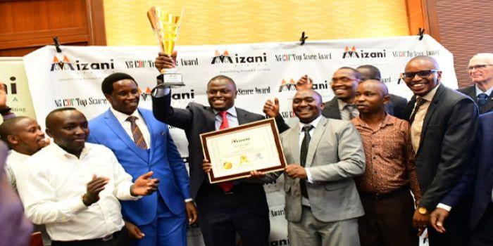 Ndindi Nyoro poses with Mizani Africa award on February 25  2020 jpg?itok=n6rje8C8.'