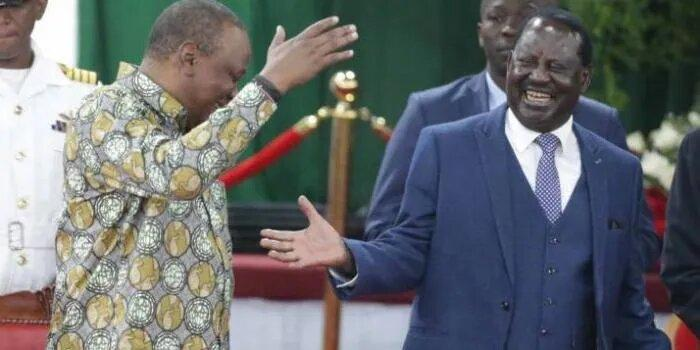 Uhuru Calls Raila Over Handshake Fallout