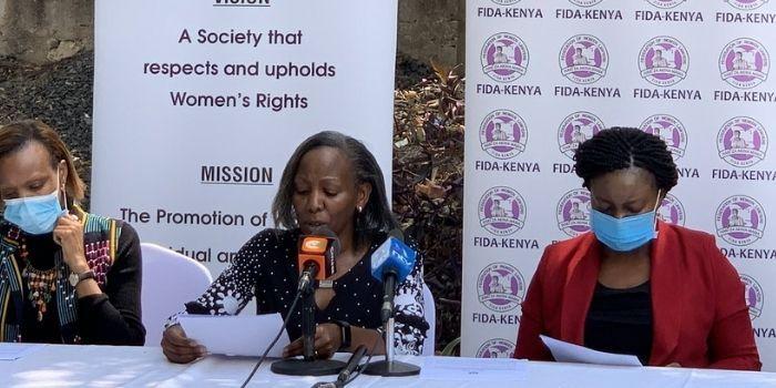 FIDA Takes On Magoha Over Teen Pregnancy Remarks