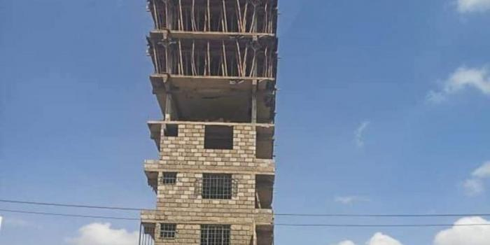 Image result for Governor Sonko Stops Demolition of Building in Kayole