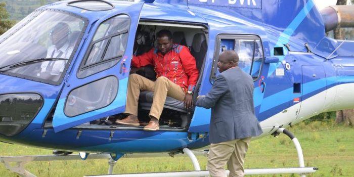 Leakey Keiva, Nairobi Businessman Selling Helicopters on OLX
