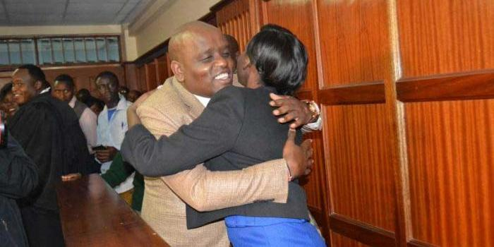Image result for Dennis Itumbi Ready to t with Jacque Maribe