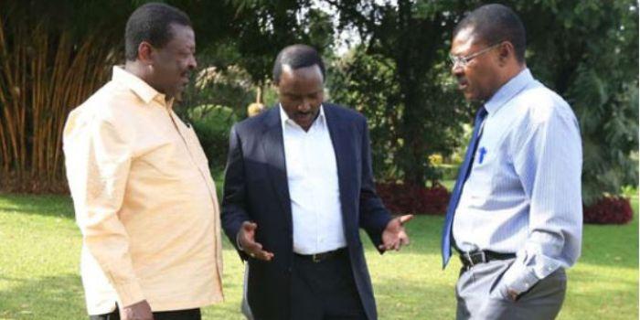 Image result for Musalia Mudavadi, Kalonzo Musyoka and Moses Wetangula