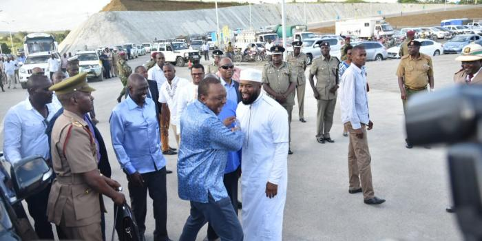 Image result for 2018-JOHO AND PRESIDENT KENYATTA RECONCILE