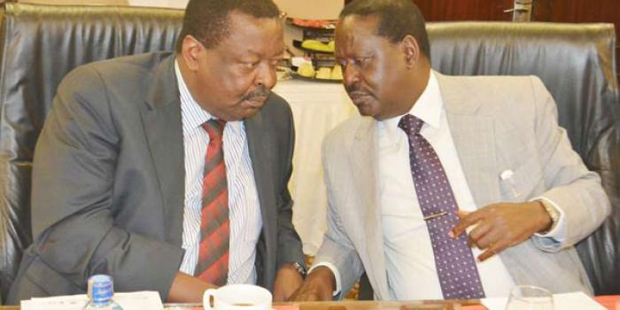Mudavadi Congratulates Raila 4 Days After Picking AU Job ...