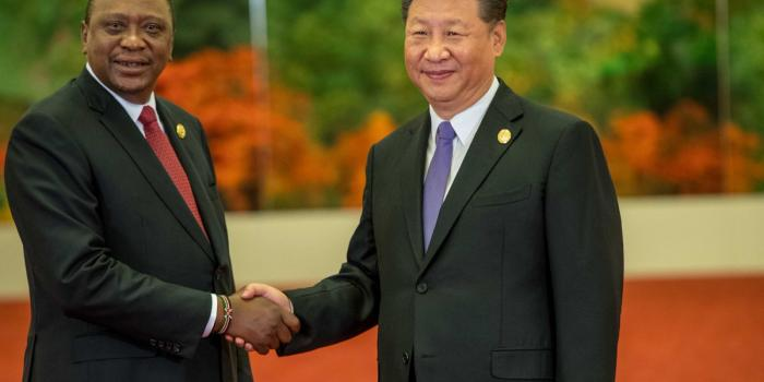 China meeting its African colonies