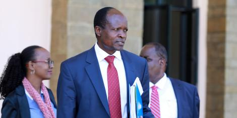 Migori Governor Okoth Obado at Kenya School of Government (KSG), Lower Kabete in Kiambu During a Consultative Devolution meeting