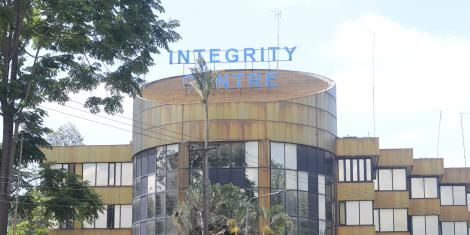 Ethics and Anti-Corruption Comission (EACC) Offices at Integrity centre Building in Nairobi. ‎Monday, ‎18 ‎November ‎2019.