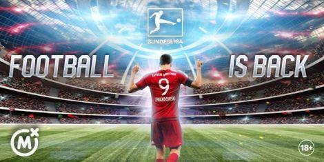 A matchday graphic of Bayern Munich footballer Robert Lewandoski