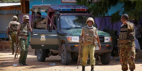 A file image of Kenya Police.