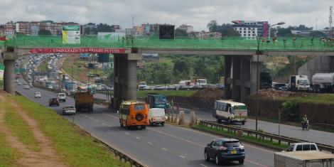 A section of the Thika Superhighway in Nairobi