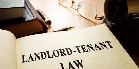A statement showing the Landlord - Tenant Law.