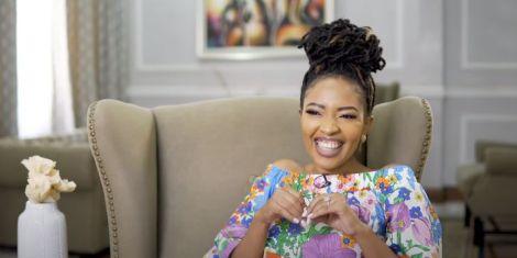 Award-winning gospel singer-songwriter and Citizen TV Presenter, Kambua Mathu..