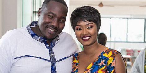 Citizen TV news anchor Willis Raburu and wife Marya Prude Raburu