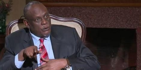 Jubilee Vice Chairman David Murathe in an interview with K24 in 2019