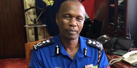 Deputy Inspector-General of Police Edward Mbugua.