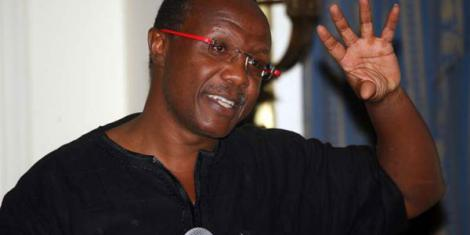 Economist David Ndii at the Sarova Stanley Hotel in Nairobi on December 8, 2015.