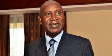 Former Auditor General Edward Ouko addresses a gathering at a summit in 2016