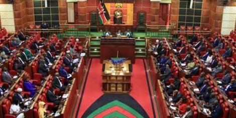File image of Parliament in session