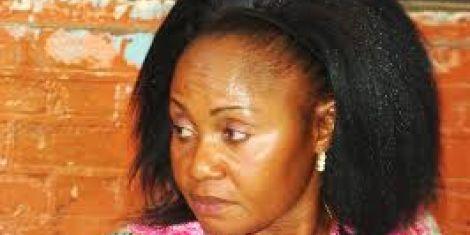 Former Jubilee Nominated Senator Emma Mbura