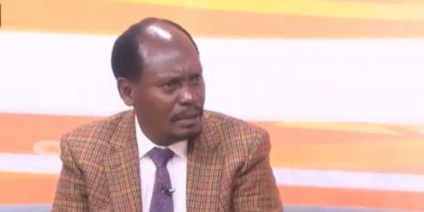 Former Kiambu Governor William Kabogo speaking on TV47. June 17, 2020.