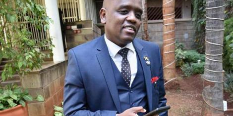 Former Digital Communications Director at the Presidential Strategic Communications Unit Dennis Itumbi.