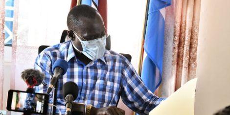 An image of Turkana Governor Josphat Nanok