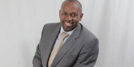 KTN News anchor Michael Gitonga
