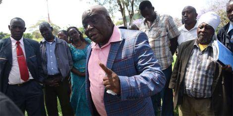 Kandara Residents Association chairman Philip Kamau.