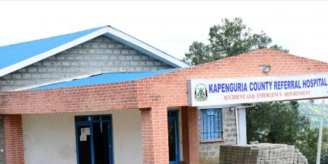 A file image of the Kapenguria County Hospital
