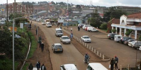 File image of a section of Limuru, Kiambu County