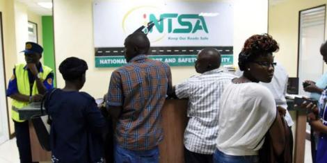 Citizens at NTSA offices