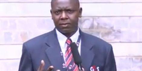 File image of Namusasi Nyongesa