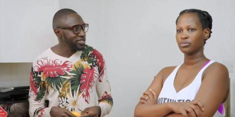 Sauti Sol's Polycarp Otieno seen in a trailer for a new reality show with his wife Lady Mandy