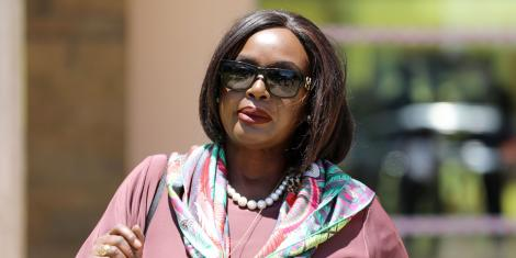 Foreign Affairs Cabinet Secretary Raychelle Omamo