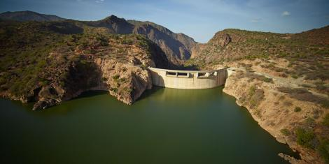 File image of Turkwel Dam in West Pokot County