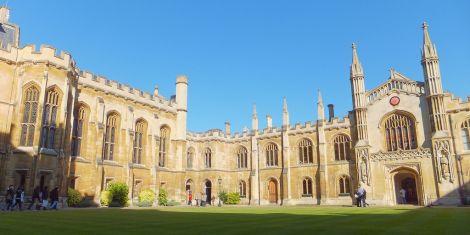 An image of Cambridge University