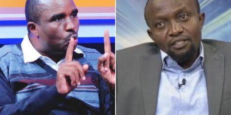 Combination image of Kamotho Waiganjo and Ndegwa Njiru