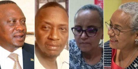 President Uhuru Kenyatta and wife Margaret Kenyatta's doppelgangers