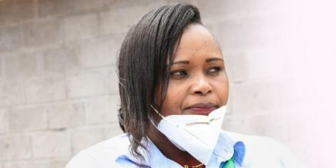 Nyeri Referral Hospital Head Mortician Eva Ngima