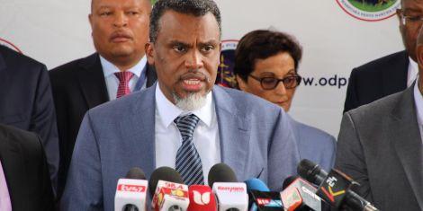 Director of Public Prosecutions Noordin Haji addresses the media on Thursday, March 5, 2020.