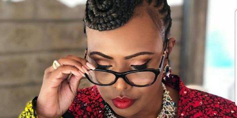 A file image of media personality Caroline Mutoko