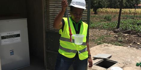 Klorman installation water quality spot check
