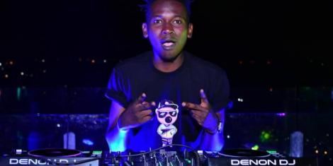 Felix Orinda alias DJ Evolve (pictured) was allegedly shot by Babu Owino after an altercation in a night club on January 17, 2020.