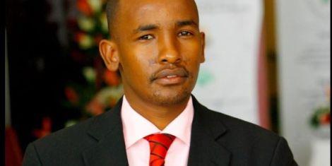 Former Citizen TV reporter Mohamed Mahmud on January 26, 2013,